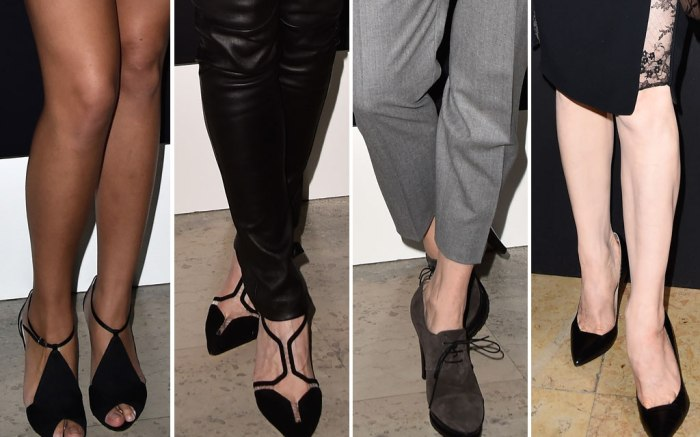 Paris Fashion Week: Shoes on the Front Row