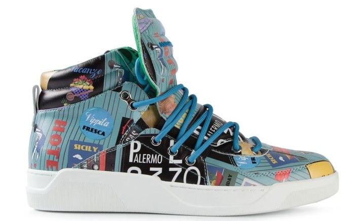Trending: Men's Pop Art Shoes