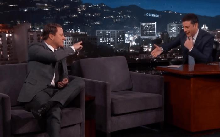Channing Tatum on Jimmy Kimmel