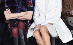 Sienna Miller at New York Fashion Week