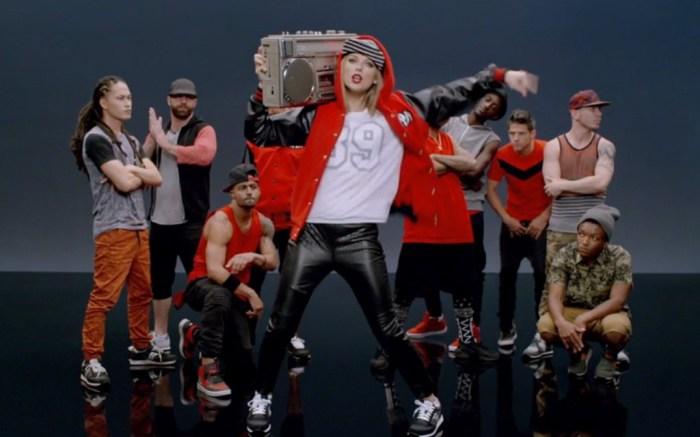 Taylor Swift in 'Shake it Off'