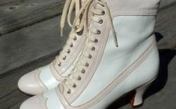Downton Abbey vintage footwear