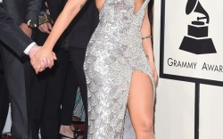 Shimmering on the red carpet in