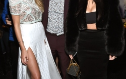 Chrissy Teigen, John Legend and Kim Kardashian West