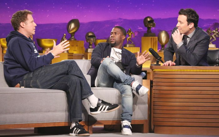 Will Ferrell on Jimmy Fallon in Adidas