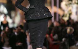 Gisele Bündchen on the runway.