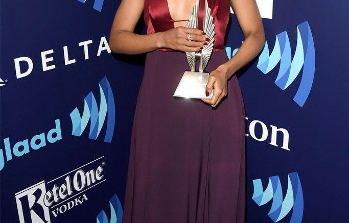 Kerry Washington at the GLAAD Awards