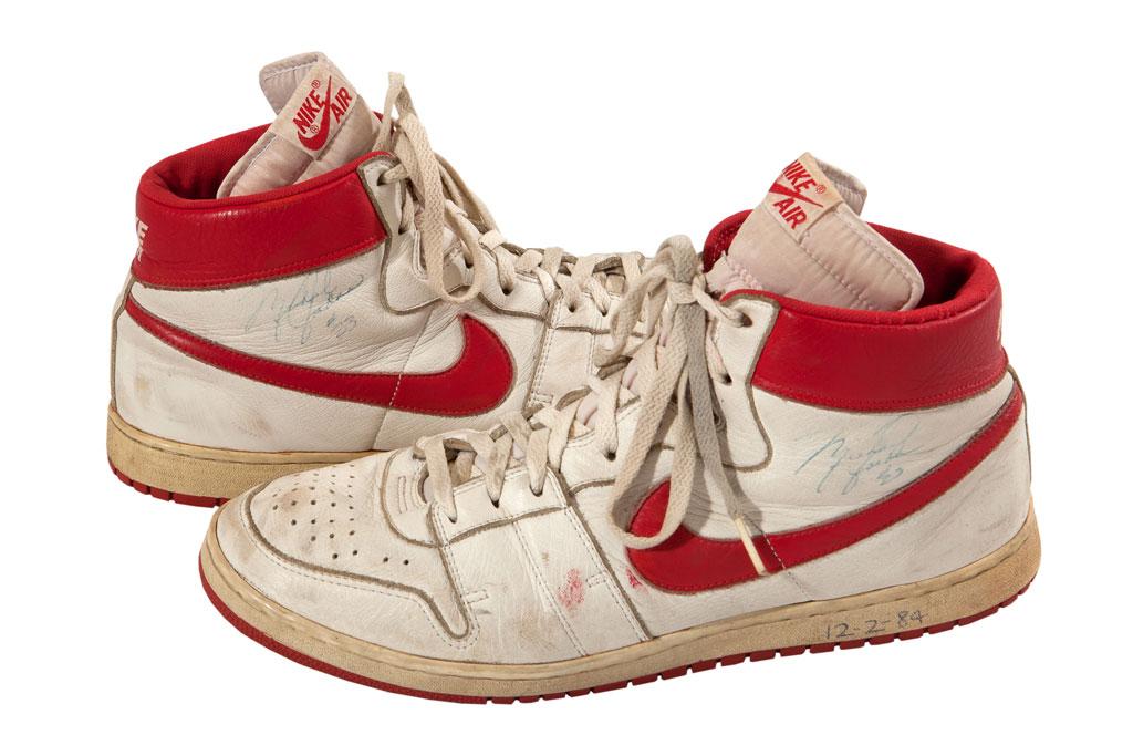 Michael Jordans Game Shoes Could Fetch