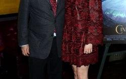 Stuart Weitzman Screens Cinderella, Lily James