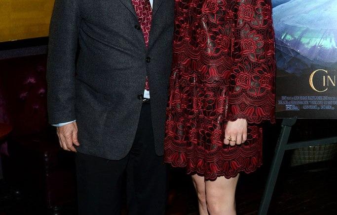 Stuart Weitzman & Lily James