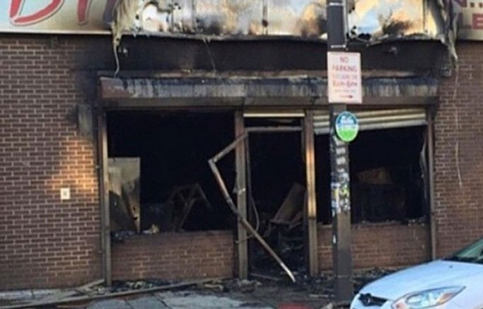Baltimore Riots Shop Front
