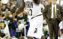 Mateen Cleaves of Michigan State in the Reebok Question