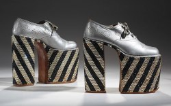 'Men In Heels' Exhibit at the