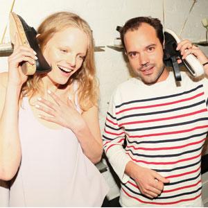 Hanne Gabby Odiele & Matt Bernson