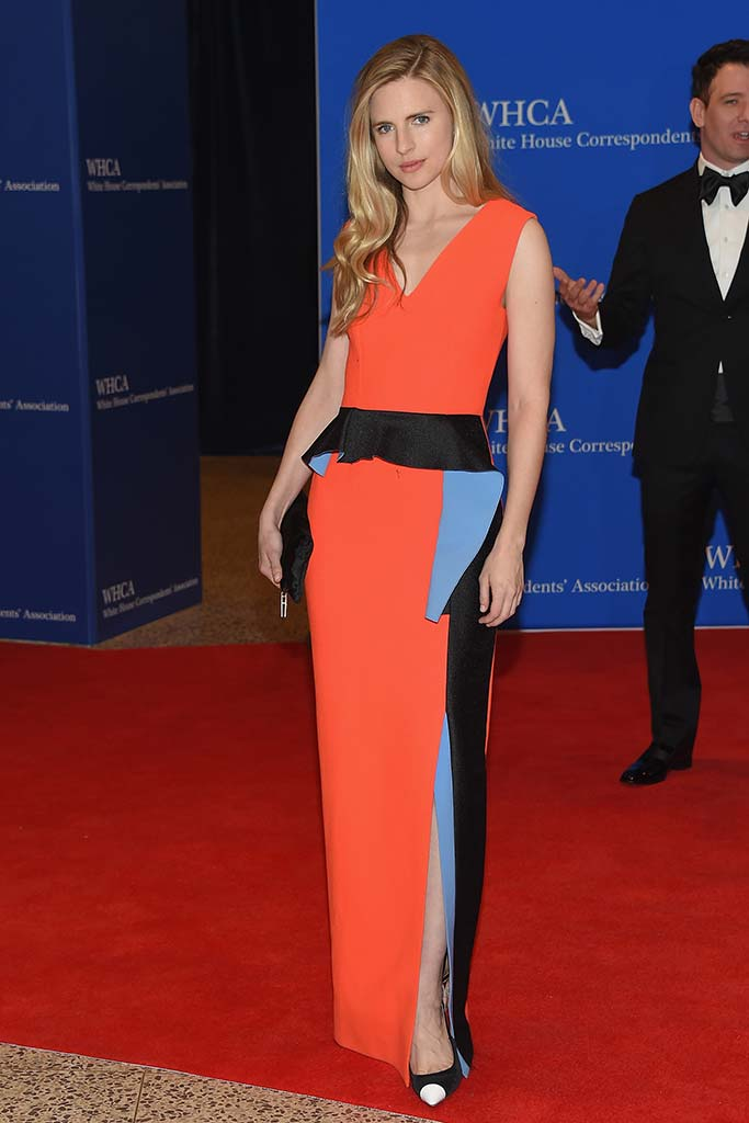Brit Marling attends the Annual White House Correspondents' Dinner