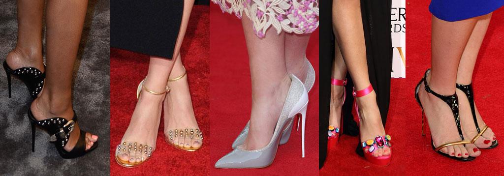 Celebrity Shoe Looks