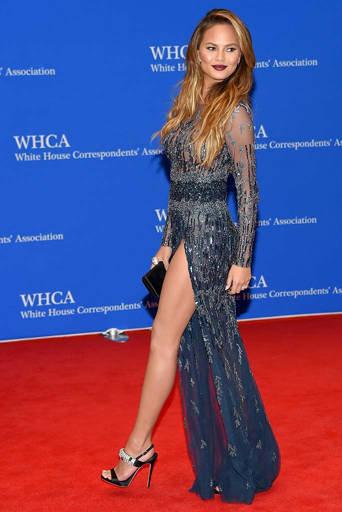 Chrissy Teigen attends the White House Correspondents' Dinner