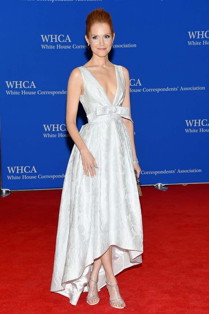 Darby Stanchfield attends the Annual White House Correspondents' Dinner