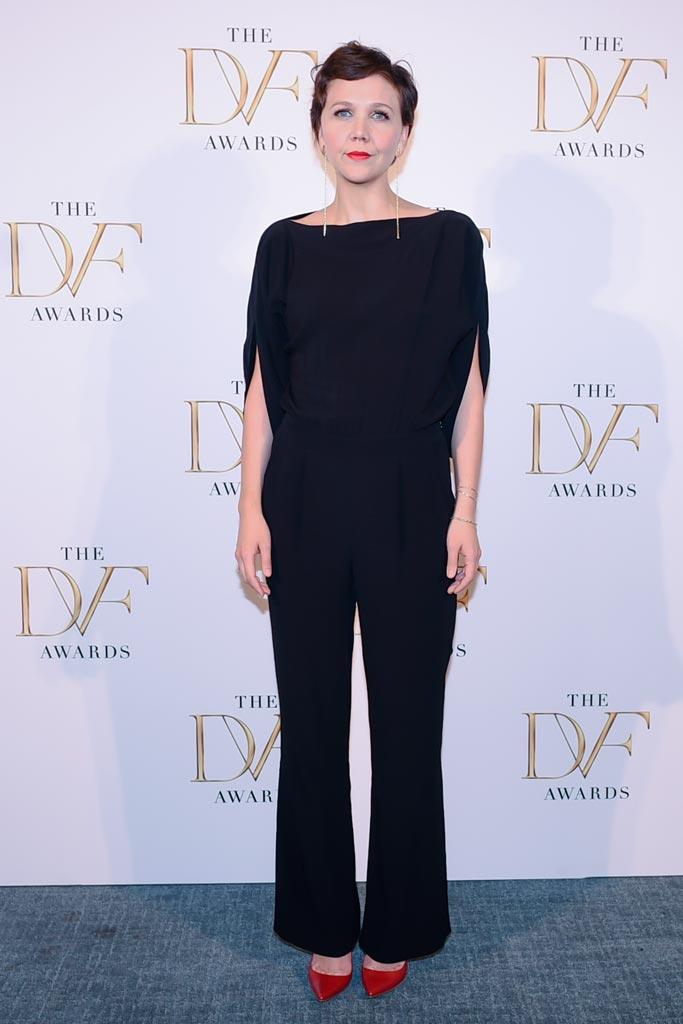 DVF Awards 2015 Maggie Gyllenhaal