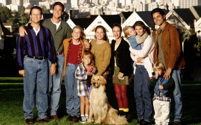 The cast of Full House