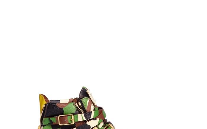 Camo-Print Shoes