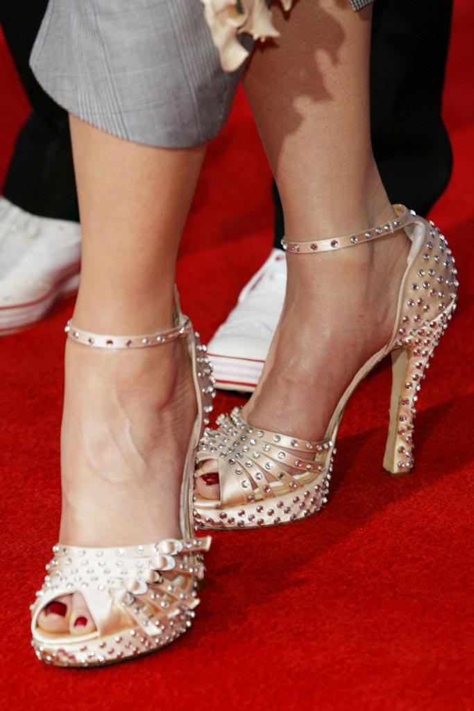 Celebrity shoe style