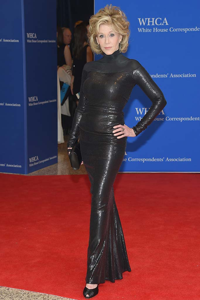 Jane Fonda attends the Annual White House Correspondents' Dinner