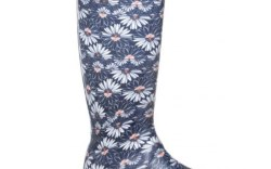Playful Spring Rain Boots