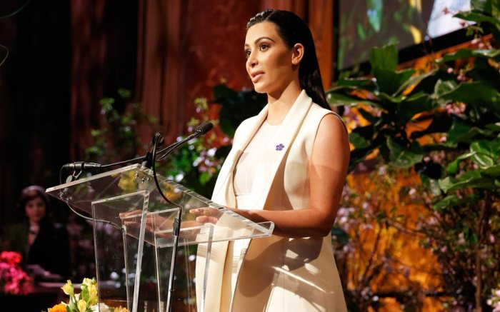 Kim Kardashian attends Variety's Power of Women event