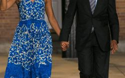 Michelle Obama's Relaxed Shoe Style