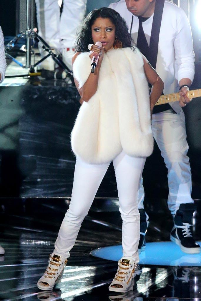 Nicki Minaj Giuseppe Zanotti Sneakers