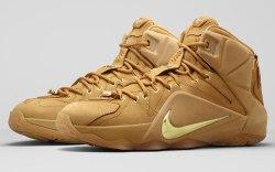 Nike LeBron XII EXT Wheat