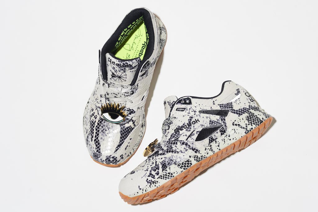 Reebok x Melody Eshani Ventilator sneaker.