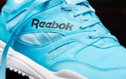 The Reebok Ventilator Neon Blue