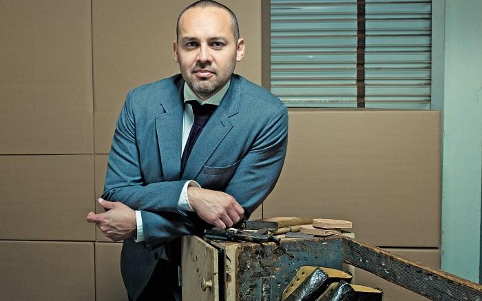 Footwear designer George Esquivel