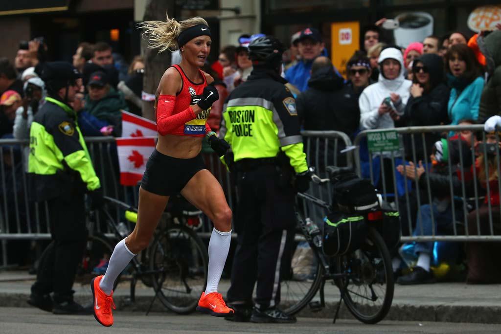 Shalene Flanagan Boston Marathon
