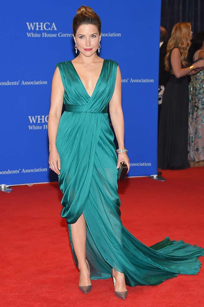 Sophia Bush attends the White House Correspondents' Dinner