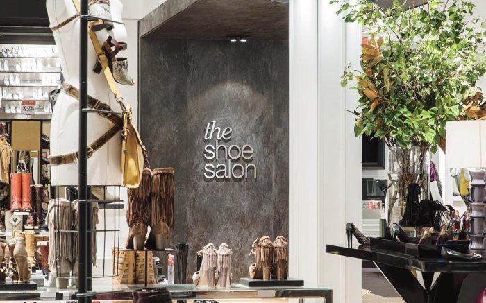 The Macy's Shoe Salon