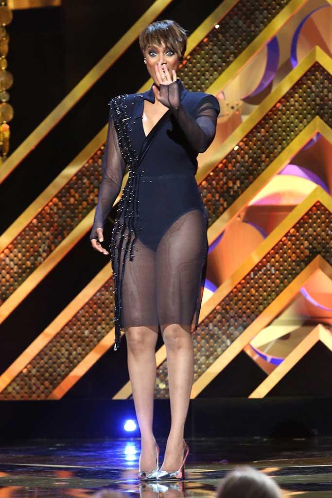 Tyra Banks hosts 42nd Daytime Emmy Awards