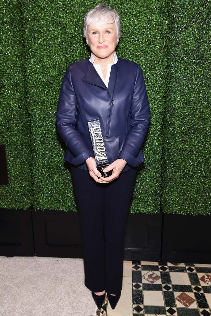 Glenn Close attends Variety Women in Power event 2015