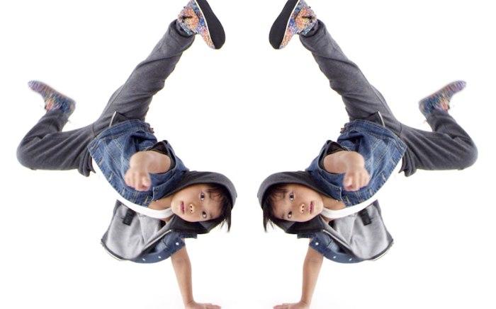 Dancer Aiden Xiong wearing AKID.