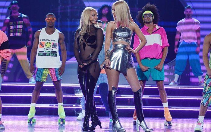 Britney Spears and Iggy Azalea