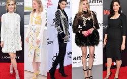 From Left: Shipka, Blunt, Jenner, Kruger,