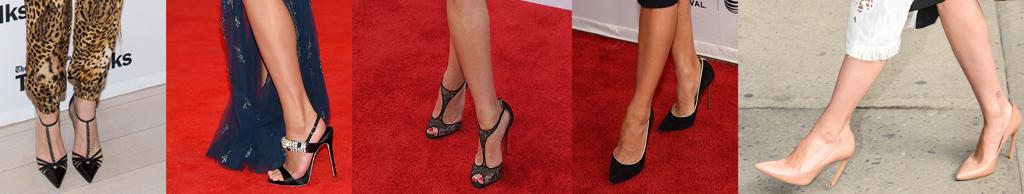 Kristen Wiig, Chrissy Teigan, Reese Witherspoon, Eva Longoria, Scarlett Johansson