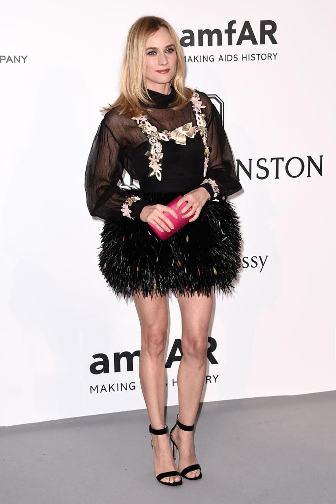 Cannes Film Festival, Amfar Gala, Diane Kruger