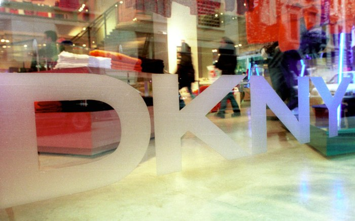DKNY store front