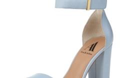 Ava & Aiden Poppy two-piece chunky heel sandal, $69