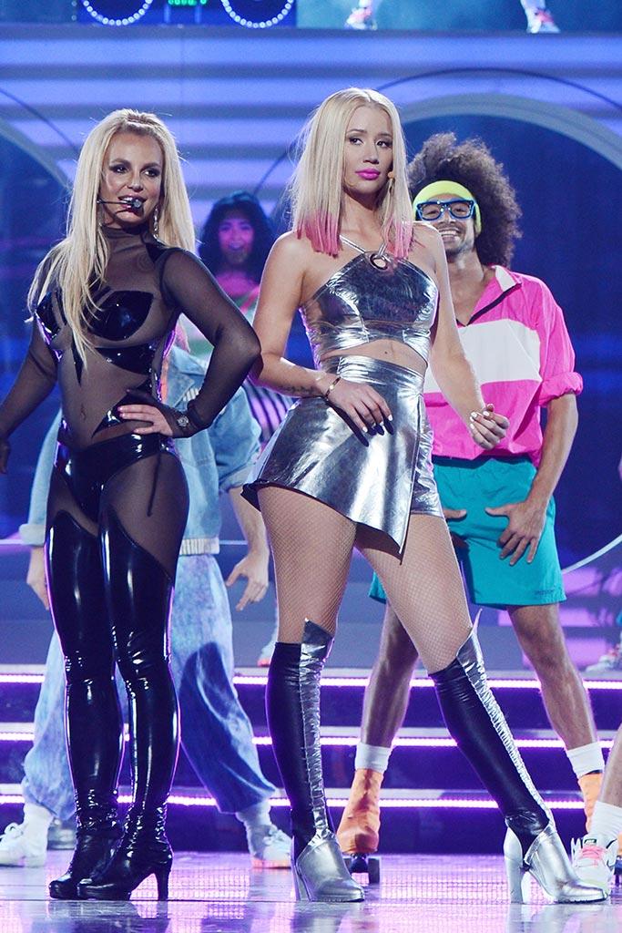 Britney Spears Iggy Azalea Billboard Awards Performance