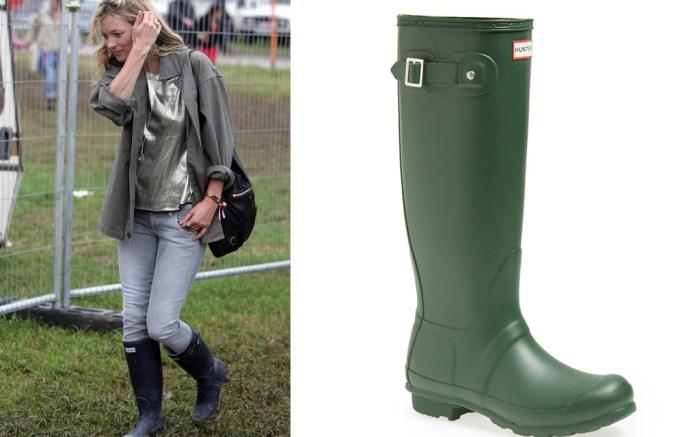 Kate Moss Hunter Rain Boots