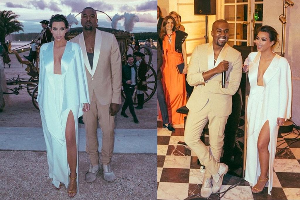 Kim Kardashian Wedding Anniversary
